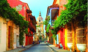 Bogota, Medellín y Cartagena